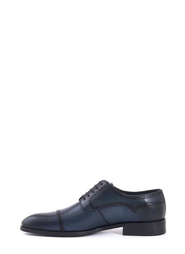 %100 Deri Bağcıklı Klasik Ayakkabı-Kemal Tanca